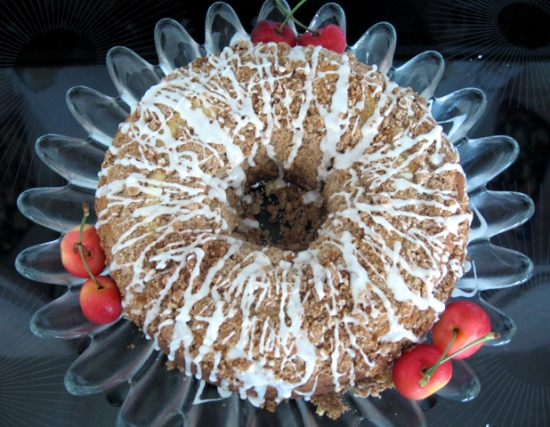 Yummies 4 Tummies :-) | Cherry-Streusel Coffee Cake