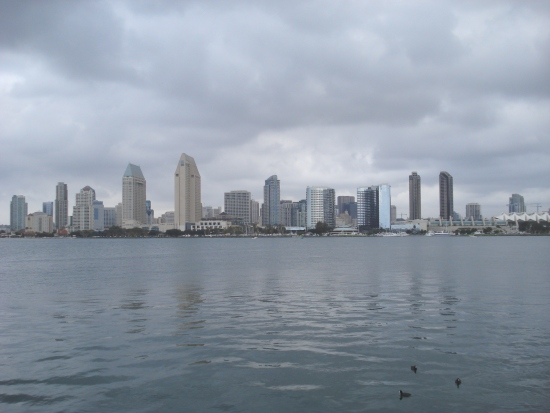 Drizzling in San Diego