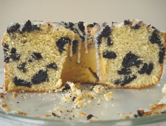 Black & White Cookie Ripple Coffee Cake
