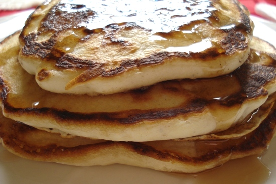 Krusteaz blueberry pancakes