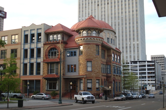 Cool building in downtown