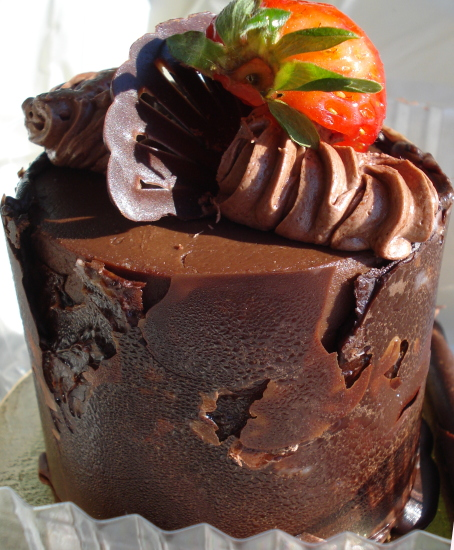 Triple Chocolate Timbale