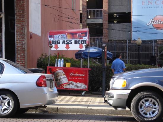 Big Ass Beer sign