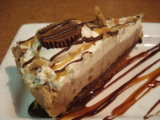 TGIF Chocolate Peanut Butter Pie