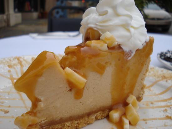 Caramel White Chocolate Cheesecake