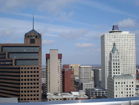 Madison rooftop view