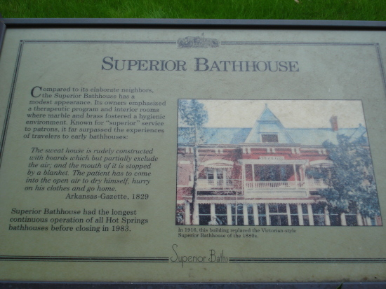 Superior Bathhouse sign