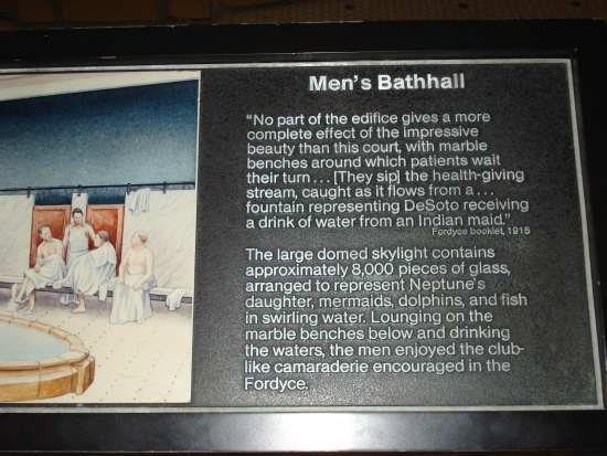 Men's Bathhall sign