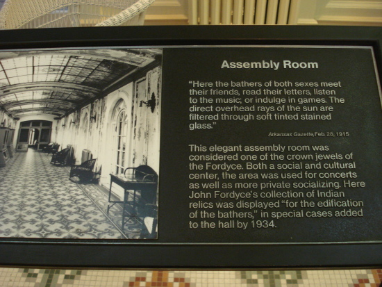 Assembly Room sign