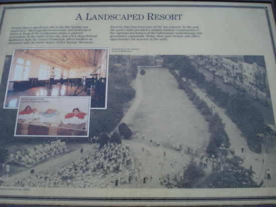 Landscaped Resort sign