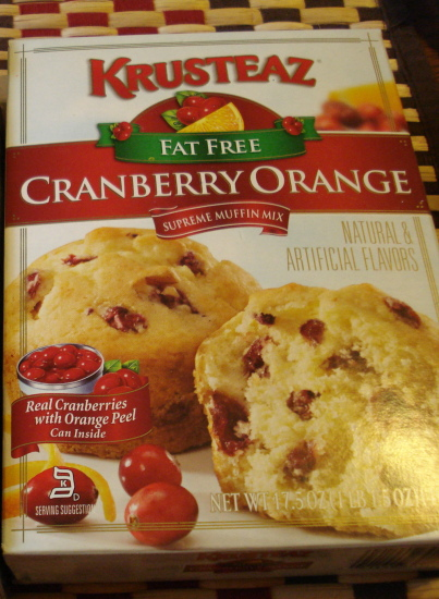 Krusteaz Cranberry Orange Muffin Mix