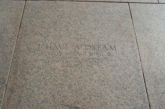 Where MLK delivered speech