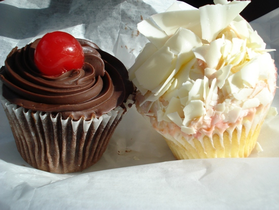 European Cake Gallery cupcakes