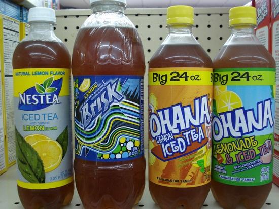 My favorite iced tea brands