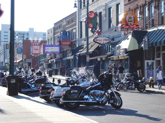 Bikes on Beale Street