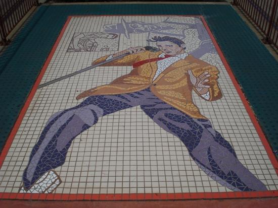 """""""Stars of Sun Studio"""" Mosaics"""