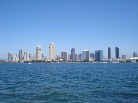 Downtown from Coronado
