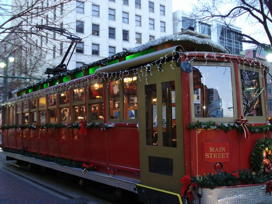 Christmas trolley