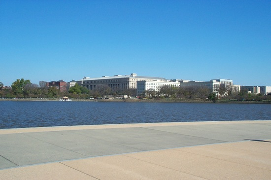 View from Thomas Jefferson Memorial